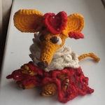 Жёлтая мышь - Ярмарка Мастеров - ручная работа, handmade