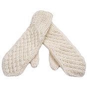 Аксессуары handmade. Livemaster - original item Woolen women`s mittens. Handmade.