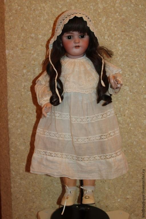 Винтажные куклы и игрушки. Ярмарка Мастеров - ручная работа. Купить Антикварная кукла Simon & Halbig 1078. Handmade. Бежевый