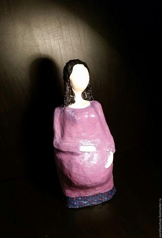 Обереги, талисманы, амулеты ручной работы. Ярмарка Мастеров - ручная работа. Купить Помощница в желанной беременности. Handmade. Сиреневый, оберег