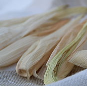 Природные материалы ручной работы. Ярмарка Мастеров - ручная работа Листья кукурузы сухие, 20 шт. Handmade.