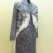 Одежда ручной работы. Ярмарка Мастеров - ручная работа Комплект платье с жилетом Вечерний. Handmade.