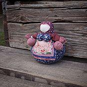 Куклы и игрушки ручной работы. Ярмарка Мастеров - ручная работа Народная русская кукла кубышка-травница. Handmade.