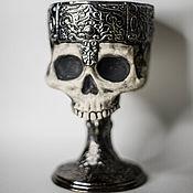 Посуда handmade. Livemaster - original item Dark Souls 3 | Artistic Skull Mug |video games art. Handmade.