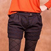 Одежда ручной работы. Ярмарка Мастеров - ручная работа Шерстяные шорты. Handmade.
