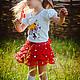 Одежда для девочек, ручной работы. Ярмарка Мастеров - ручная работа. Купить Детская вязаная юбка. Handmade. Разноцветный, детская юбочка