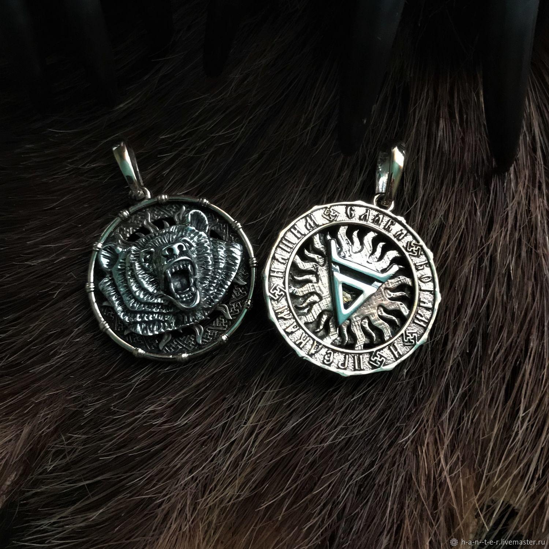 Символ Велеса - бронза – купить на Ярмарке Мастеров – I650RRU | Подвеска, Кострома
