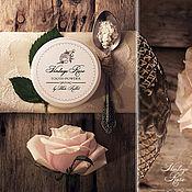 """Косметика ручной работы. Ярмарка Мастеров - ручная работа """"Винтажная Роза"""" зубной порошок. Handmade."""