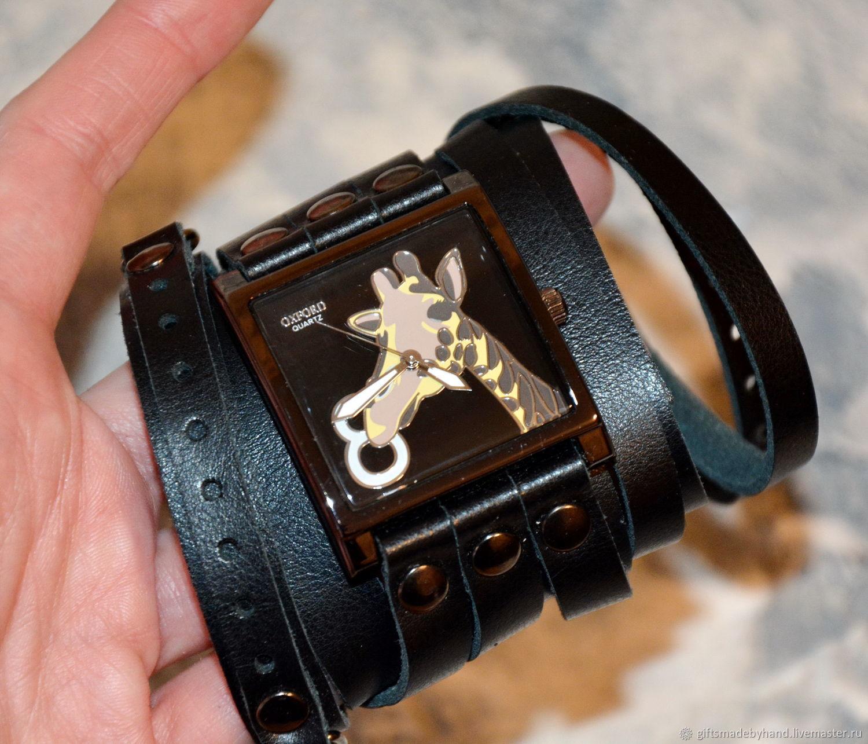 Купить наручные часы с жирафом мужские титановые наручные часы купить в
