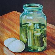 Картины и панно handmade. Livemaster - original item Oil painting Delicious still Life. Handmade.