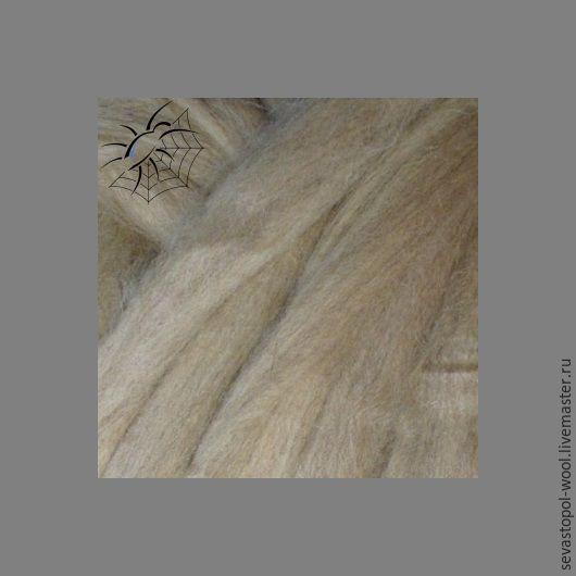 Валяние ручной работы. Ярмарка Мастеров - ручная работа. Купить Шерсть южноамериканская 27 мкм. Handmade. Шерсть, песочный