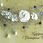 Украшения handmade. Livemaster - original item Sprig for the hair