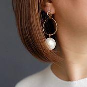 Украшения handmade. Livemaster - original item Earrings classic: Cloud. Handmade.