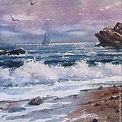 Картины и панно ручной работы. Ярмарка Мастеров - ручная работа Морской пейзаж. Handmade.
