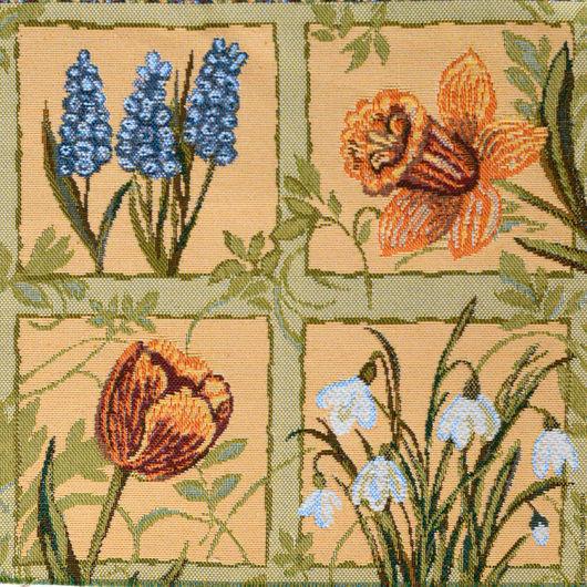 Текстиль, ковры ручной работы. Ярмарка Мастеров - ручная работа. Купить Первоцветы. Handmade. Комбинированный, белый, гадючий лук, лето