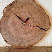 """Для дома и интерьера ручной работы. Ярмарка Мастеров - ручная работа Часы настенные """"Старый дуб"""". Handmade."""