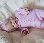 Работы для детей, ручной работы. Ярмарка Мастеров - ручная работа Комплект на выписку Малышок для недоношенных и близнецов. Handmade.