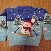 Одежда ручной работы. Ярмарка Мастеров - ручная работа свитер шарф носки. Handmade.