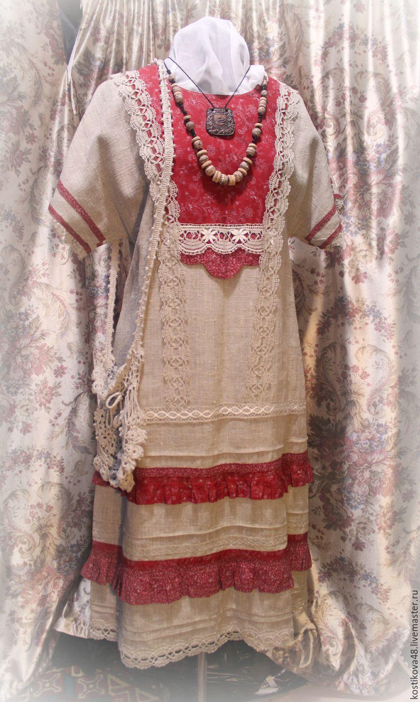 Льняное Платье Купить Интернет