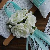 Свадебный салон ручной работы. Ярмарка Мастеров - ручная работа Бралетик с махровыми эустомами и гипсофилой (фоамиран). Handmade.