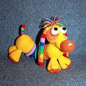 Куклы и игрушки handmade. Livemaster - original item dachshund iris. acrylic. toy. dog knitted. acrylic.. Handmade.