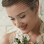 Свадебный салон handmade. Livemaster - original item wedding veil delicate still. Handmade.