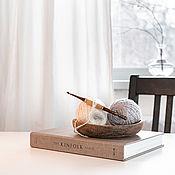 Материалы для творчества handmade. Livemaster - original item 4mm Cedar Wood Knitting Hook. K304. Handmade.