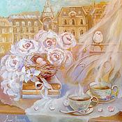 Картины и панно handmade. Livemaster - original item Marshmallow morning. Handmade.