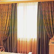 Для дома и интерьера ручной работы. Ярмарка Мастеров - ручная работа Комплект штор Шелковая Венеция. Handmade.