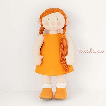Куклы и игрушки ручной работы. Ярмарка Мастеров - ручная работа Мягкая детская кукла. Handmade.