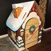 Домики ручной работы. Ярмарка Мастеров - ручная работа Игровые картонные домики. Handmade.
