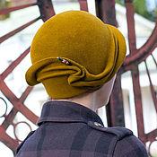 Аксессуары handmade. Livemaster - original item Hat Cloche