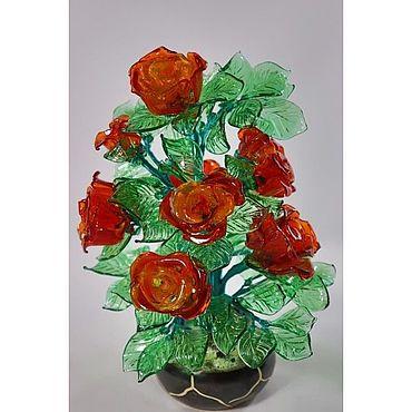 Цветы и флористика ручной работы. Ярмарка Мастеров - ручная работа Букет Розы. Handmade.