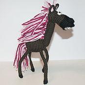 Куклы и игрушки ручной работы. Ярмарка Мастеров - ручная работа Весёлая Лошадь. Handmade.