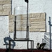 """Сувениры и подарки ручной работы. Ярмарка Мастеров - ручная работа Напольная ваза - закованное стекло """"Укрощенный ветер"""". Handmade."""