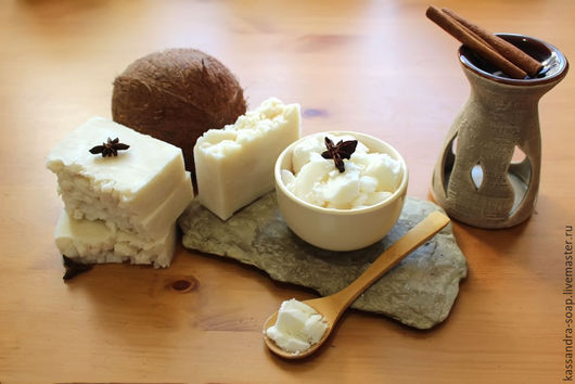 """Мыло ручной работы. Ярмарка Мастеров - ручная работа. Купить Мыло с нуля на масле ши """"Ivory"""".. Handmade. Белый, мыло"""
