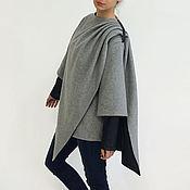 Одежда handmade. Livemaster - original item Coat womens Winter coat womens Cashmere coat Gray coat. Handmade.