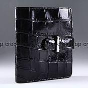 Сумки и аксессуары handmade. Livemaster - original item Wallet female crocodile IMA0061B44. Handmade.