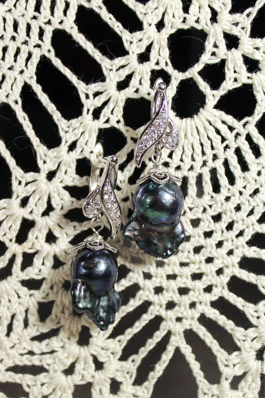 Earrings 'rose Buds' 2, Earrings, Nizhny Novgorod,  Фото №1