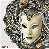 """Для дома и интерьера ручной работы. Ярмарка Мастеров - ручная работа Интерьерная маска """"Зодиак. Рыбы"""". Handmade."""