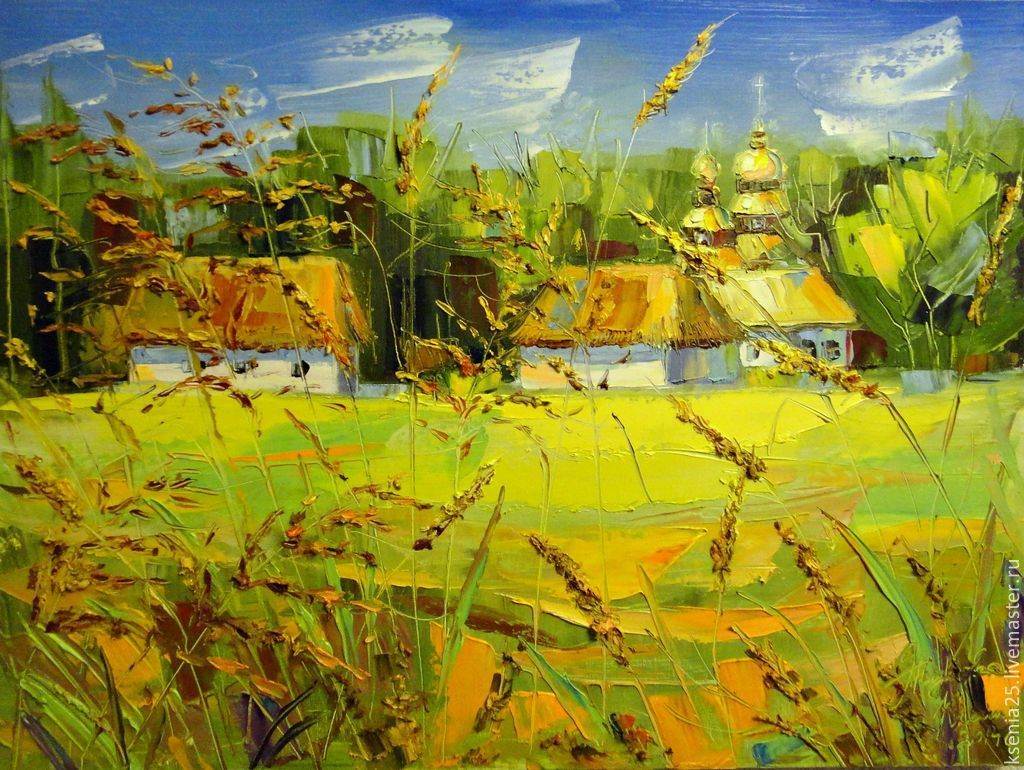 Oil painting On homeland, Pictures, Rossosh,  Фото №1