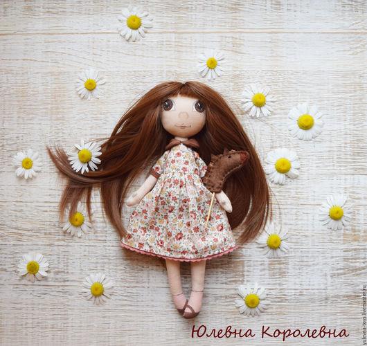 Коллекционные куклы ручной работы. Ярмарка Мастеров - ручная работа. Купить Текстильная кукла Леночка. Интерьерная кукла. Авторская кукла.. Handmade.