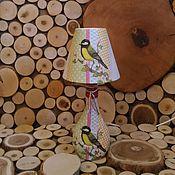 """Для дома и интерьера ручной работы. Ярмарка Мастеров - ручная работа """"Птица синица малая"""". Handmade."""