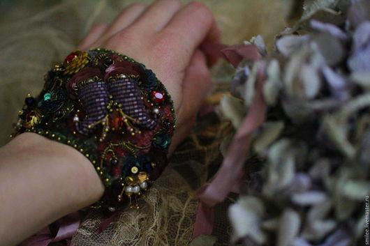 винтажное украшение, браслет ручной работы