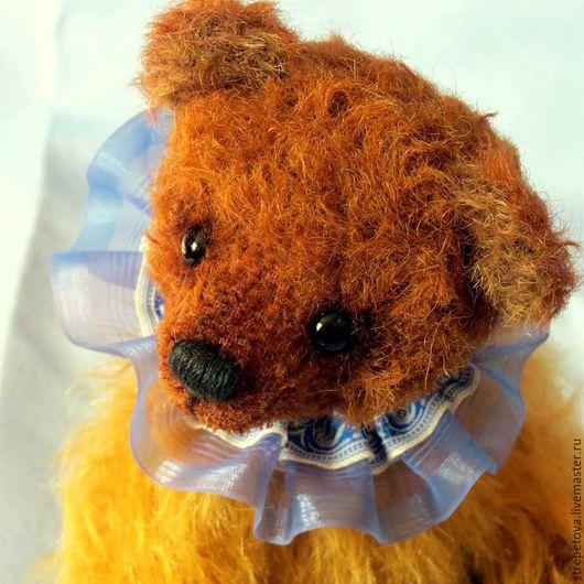 Мишки Тедди ручной работы. Ярмарка Мастеров - ручная работа. Купить Янек. Handmade. Коричневый, медвежонок, мохер Германия