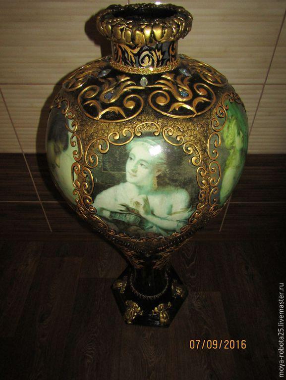 Напольная ваза Царская