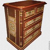 Русский стиль handmade. Livemaster - original item Vintage dresser painted