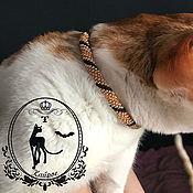Зоотовары handmade. Livemaster - original item Collar for cats .. Handmade.