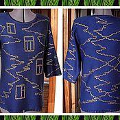 Одежда ручной работы. Ярмарка Мастеров - ручная работа Ночной город. Handmade.