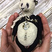 Куклы и игрушки ручной работы. Ярмарка Мастеров - ручная работа Панда Клайд. Handmade.